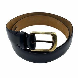 Louis Vuitton Ceinture Ellipse Black Leather Belt
